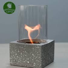 tabletop bio ethanol fireplace outdoor