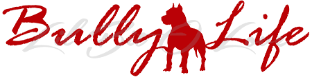 Bully Life Vinyl Decal Pit Bull Rescue Lilbitolove