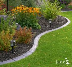 brick edging garden edging