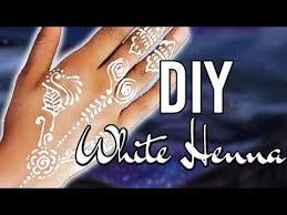 easy diy white henna only 2