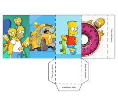 Invitaciones De Los Simpsons Para Cumpleanos Imagui
