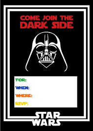 Printable Star Wars Birthday Invitations Invitaciones