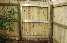 Wood Fence Wood Fence Frame
