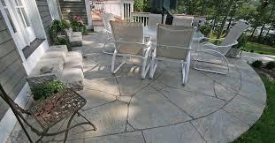 concrete patio remodel ideas poured