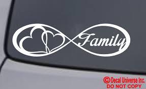 Infinity Love Forever Car Sticker Decal Laptop Vinyl Art 04 61 For Sale Online Ebay