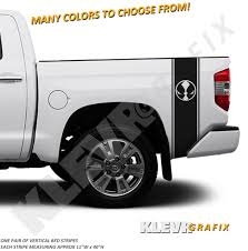 American Flag Ram Head Any Size Decal Sticker Dodge Custom Vinyl Truck Pair