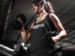 female beginner arm workout