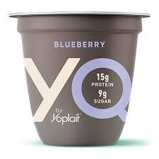 blueberry yq high protein yogurt made