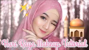 hari raya makeup tutorial eid