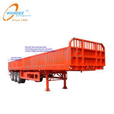 China Customized Fence Semi Trailer For Sugar Cane Harvest Stake China Truck Truck Trailer