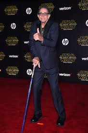 Who was Peter Mayhew, how tall was the Chewbacca actor and how old was he  in Star Wars?