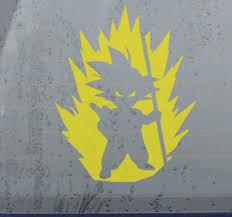 Dragon Ball Car Vinyl Sticker Tenstickers