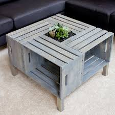 untreated pallet coffee table diy sets