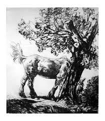 Robert Charles Peter The Old Farm Horse 1930 Mutualart