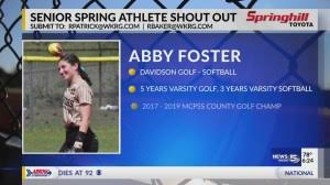 Spring Shout Out Abby Foster