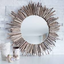 how to make a diy driftwood mirror or