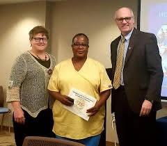 Ada Bailey receiving her award for 25... - MSU Breathitt Veterinary Center  | Facebook