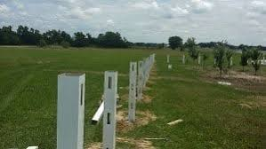 Setting Posts In Dry Concrete Is The Best Way When Installing A Fence