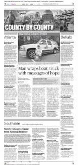 The Atlanta Constitution from Atlanta, Georgia on March 26, 2014 · B5