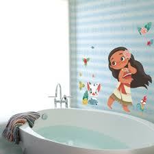 Vintage Disney Moana Peel And Stick Giant Wall Decals Roommates Decor