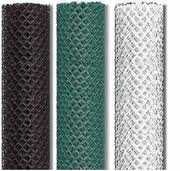 5 Ft High 2 X 9 Ga Vinyl Coated Chain Link Fence Mesh 50 Ft Roll Fence Material