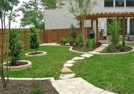 yard landscaping design quiet corner