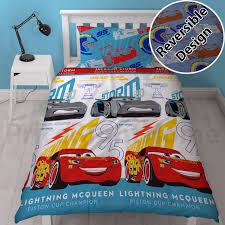 Disney Cars 3 Lightning Duvets Curtains Kids Boys Bedroom Blue Ebay