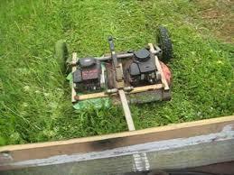 homemade tow mower you