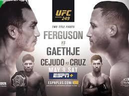 Is UFC 249 on TV? Live stream, start ...