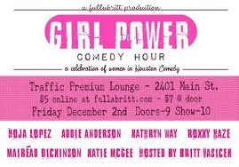 Addie Anderson   Comedy Scene In Houston