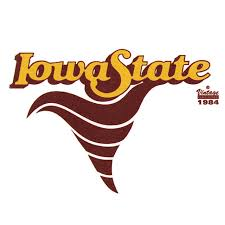 Vintage Iowa State Cyclone Decal 76386421047 Isu Book Store