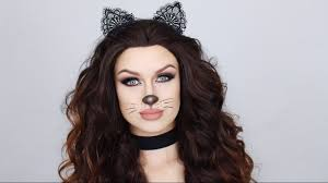 easy glam cat makeup tutorial