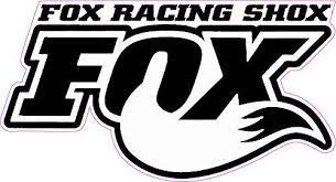 Fox Racing Shox White Tall Decal Nostalgia Decals Die Cut Vinyl Stickers Nostalgia Decals Online