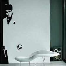 Aytokollhto Scarface Vinyl Wall Decals Vinyl Wall Art Home Decor