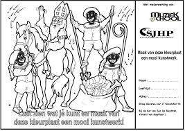 Sinterklaasfeest Hintham De Biechten