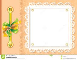 Marco Para Una Foto O Las Invitaciones Ilustracion Del Vector