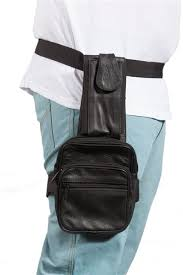 leather thigh concealment holster