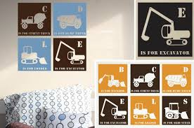 Three Wall Decals For A Baby Boy Or A Toddler Bedroom Etsy Finds At Home With Kim Vallee