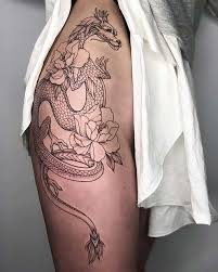 Pin by Addie Walker on Badass tattoos in 2020 | Thigh tattoos ...