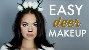 easy makeup tutorial deer