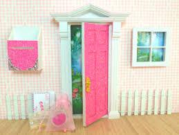 Opening Fairy Doors Pastel Pink Glitter Fairy Door Set Hushkids Gift Store