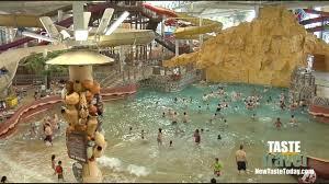 the largest indoor water park kalahari