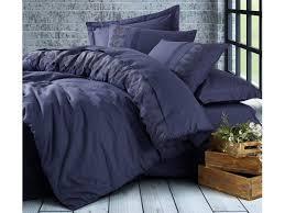 bedding set dark blue