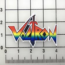 Voltron Logo 4 Wide Vinyl Decal Sticker Bogo For Sale Online