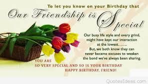 friendship happy birthday quotes