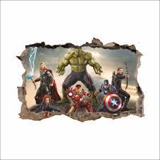 Hulk Sticker Vinyl Avengers Decal
