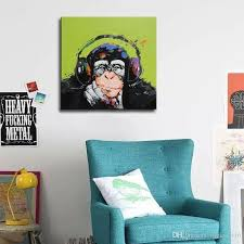 2020 Nordic Posters Prints Abstract Gorilla Animals Oil Painting Kids Room Decoration Giclee Wall Art Canvas Picture Modern Home Decor From Allright1999 11 1 Dhgate Com