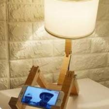 Robot Shape Is A Poseable Robot Table Lamp You Ll Love Robot Shape Kid S Lamp