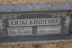 Mary Audra Roberts Qualkinbush (1917-2004) - Find A Grave Memorial