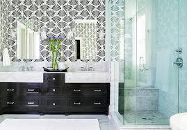 bath vanity with frameless mirrors